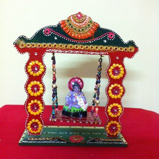 Swinging Jhula Temple With Shri Krishna In India Shopclues Online