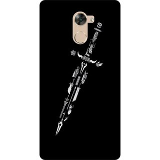 Go Hooked Designer Soft Back Cover For PANASONIC ELUGA MARK 2 + Free Mobile Stand (Assorted Design)