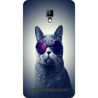 Go Hooked Designer Soft Back Cover For MICROMAX BOLT Q331 + Free Mobile Stand (Assorted Design)