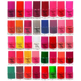 Fashion Bar  Nail Polish  Combo Offer in Wholesale Rate Matte 200 ml Pack of 40