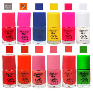 Fashion Bar  Nail Polish  Combo Offer in Wholesale Rate Matte 60 ml