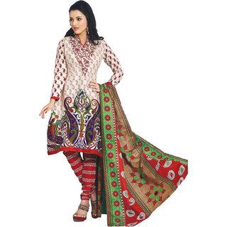 Indian Wear Online Multi Color Georgette Dress Material (Unstitched)