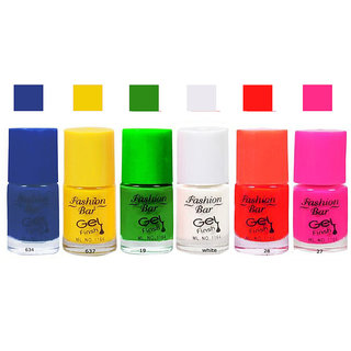 Fashion Bar  Nail Polish  Combo Offer in Wholesale Rate Matte 30 ml Pack of 6