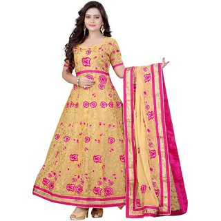 Indian Wear Online Multi Color Georgette Dress Material (Unstitched)