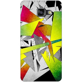 Go Hooked Designer Soft Back Cover For SAMSUNG GALAXY A3(2017) + Free Mobile Stand (Assorted Design)