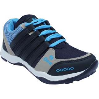 Opner Boys Dixon Blue Grey Sports Shoes!