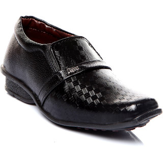Trilokani Stylish Formal Kids Shoes (TFC04_BLACK)