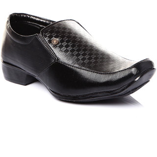 Trilokani Stylish Formal Kids Shoes (TFC09BLACK)