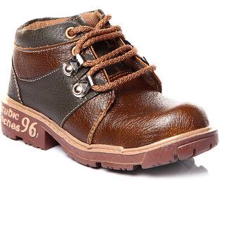 Trilokani Best Party Kids Shoes (TFC20OLIVE)