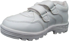 White School Shoes with Velcro!