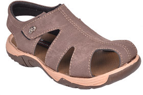 Trilokani Boys Sandals TFC75BROWN!