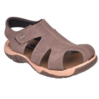Trilokani Boys Sandals TFC75BROWN
