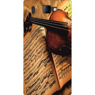 Go Hooked Designer Soft Back Cover For PANASONIC P66 + Free Mobile Stand (Assorted Design)