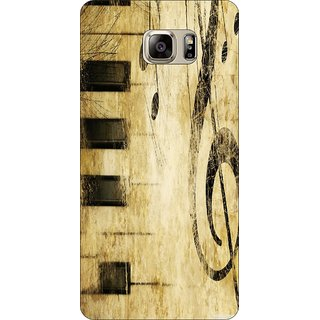 Go Hooked Designer Soft Back Cover For SAMSUNG GALAXY NOTE 5 + Free Mobile Stand (Assorted Design)