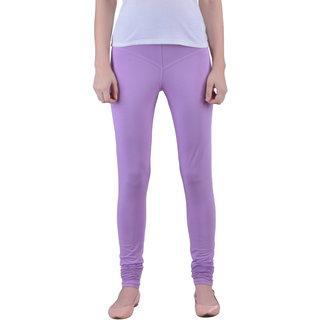 Dollar Missy Moving Mauve Color Fashionable And Comfortable Churidar Legging