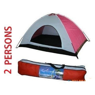 41d8c07c09b PORTABLE DOME TENT FOR 2 PERSON WATERPROOF CAMPING TENT OUTDOOR TENT at Best  Prices - Shopclues Online Shopping Store