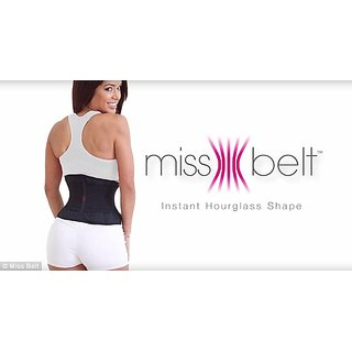 ad7115cd2cab3 Buy Women Miss Lady Belt Slimming Shaper Miss Waist Trainer Belt - Body  Shaper Online - Get 24% Off