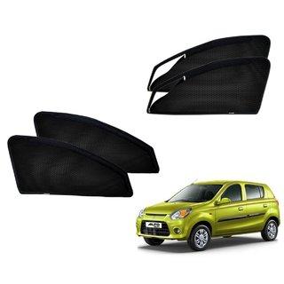Premium Quality Zipper Magnetic Sun Shades Car Curtain For Maruti Suzuki Alto 800