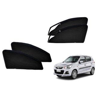 Premium Quality Zipper Magnetic Sun Shades Car Curtain For Maruti Suzuki Alto K10