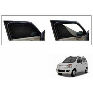 Premium Quality Zipper Magnetic Sun Shades Car Curtain For Maruti Suzuki WagonR
