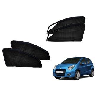 Premium Quality Zipper Magnetic Sun Shades Car Curtain For Maruti Suzuki A-Star
