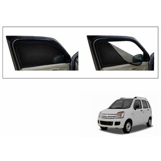 Premium Quality Zipper Magnetic Sun Shades Car Curtain For Maruti Suzuki WagonR Stingray