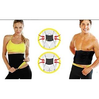 9b48fe13b1 Buy Neoprene waist Hot shaper belt Vest Band Neotex Body Sweat Fat Burn  Unisex Online - Get 16% Off