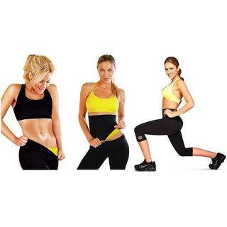 074c5ad58a013 Buy Neoprene Hot waist shaper belt Shaper Vest Band Neotex Body Sweat Fat  Burn Size L Online - Get 27% Off