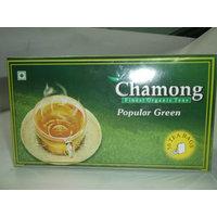 Green Tea Bags - Chamong Popular Green Tea Pack Of 1 (50x1=50 Tea Bags)