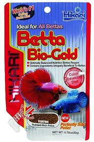 Hikari Betta Bio-Gold  20gm Betta Food  Floating Type  Color Enhance