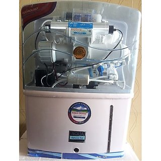 RO Filter Water Purifier 14 Stage+UV+UF+TDSController+Iron Remover+Auto Flashing + 12 Ltrs Storage Capacity + Free RO Body Cover + Spares +1 Year Warranty