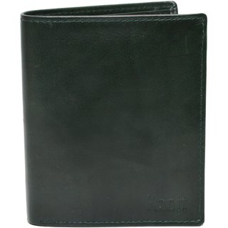 Knott Green Exclusive Leather Wallet for Men