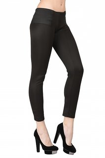 Westrobe Women's Trendy Black Stretchable Pant