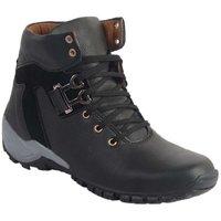 Rocco Men's Black Lace-Up Boots