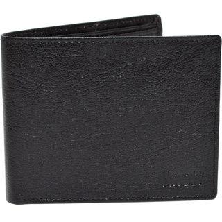 Knott Black  Trendy Leather Wallet for Men