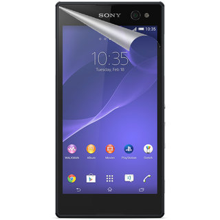 Snooky Ultimate Anti Shock Screen Guard Protector for Sony Xperia C3 (Pack Of 3 Screen Guard)