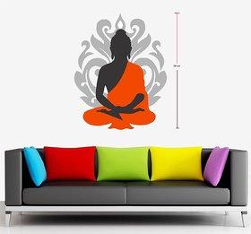 Asmi Collections Wall Stickers Beautiful God Buddha