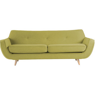 Maxwell 3 Seater Sofa In Green Colour