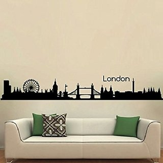 Asmi Collections Wall Stickers Beautiful London