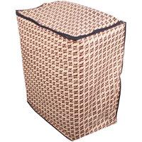 Glassiano Abstract golden washing machine cover for semi automatic machine for MIDEA MWMSA065M02 Fully Automatic Top Load 6.5 kg washing machine