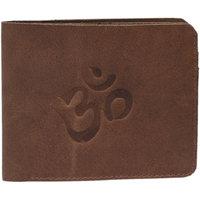Hidelink Brown Pure Leather Wallet for Men SWP4103