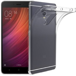 Redmi Note 4 Flexible Ultra Slim Premium Silicone TPU Transparent Soft Back Cover