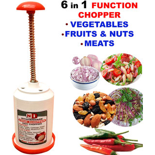 MULTICOLOR STAINLESS STEEL CHOPPER IN MULTIFUNCTION'S