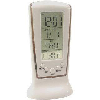 Table Desk Car Digital LCD Alarm Clock Timer Stopwatch