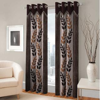 Angel home Door Eyelet Curtain Single Piece