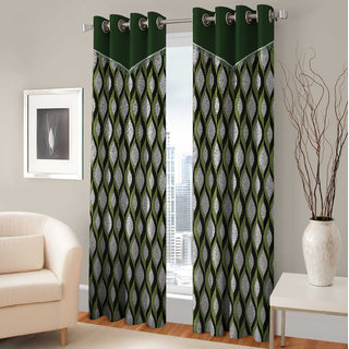 Fashion Fab Door Eyelet Curtain Single Piece