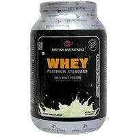 British Nutrition Whey Platinum Standard French Vanilla 1Kg