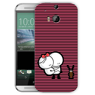 Scared Cute Cartoon Printed Designer Mobile Back Cover For