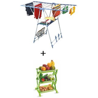 Classic Essentials Butterfly MS  Cloth Drier and Get a Multipurpose Rack Free