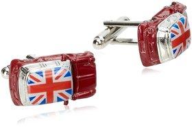 Beene Men's British Car Cufflink